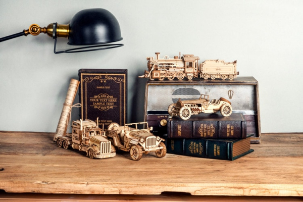 Puzzle 3D Army Jeep [5]