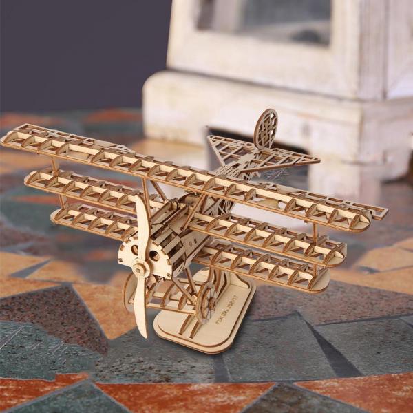 Puzzle 3D Bi-Plane [6]