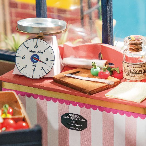 Puzzle 3D Carl's Fruis Shop [3]