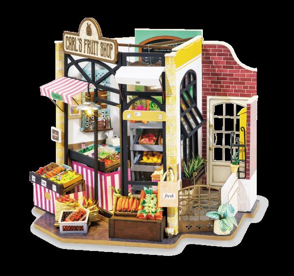 Puzzle 3D Carl's Fruis Shop [1]