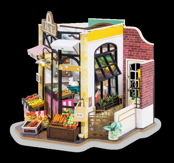 Puzzle 3D Carl's Fruis Shop [0]