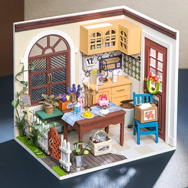 Puzzle 3D Charlie's Dining Room [5]
