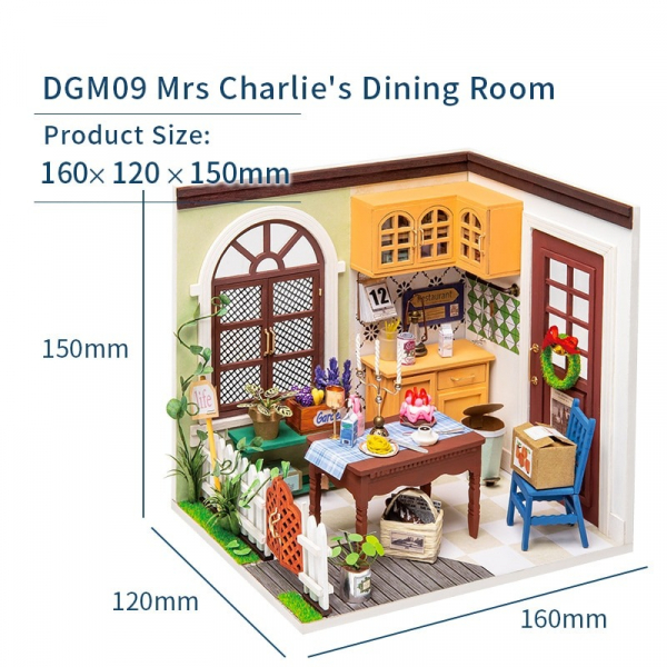 Puzzle 3D Charlie's Dining Room [3]