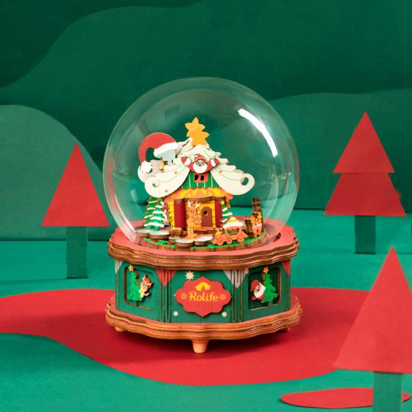 Puzzle 3D Christmas Town [6]