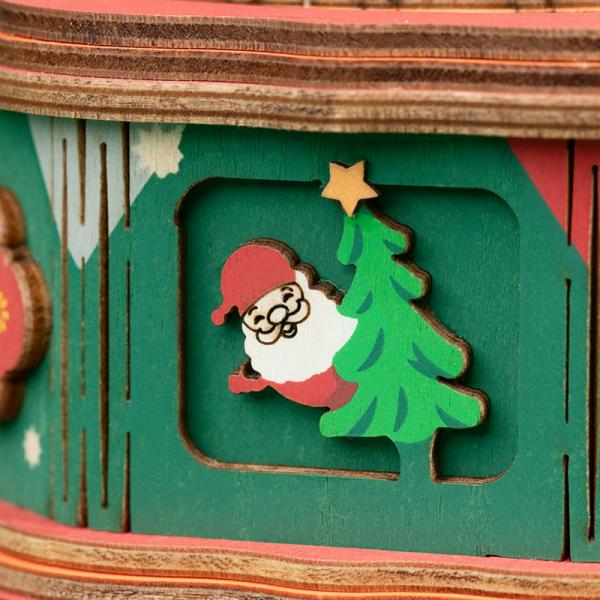 Puzzle 3D Christmas Town [4]