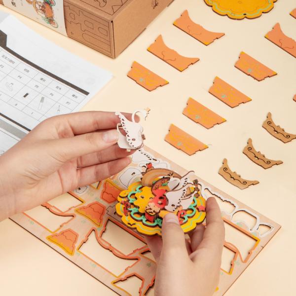Puzzle 3D Christmas Town [3]