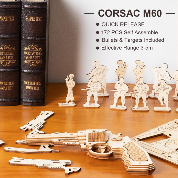 Puzzle 3D Corsac M60 [9]