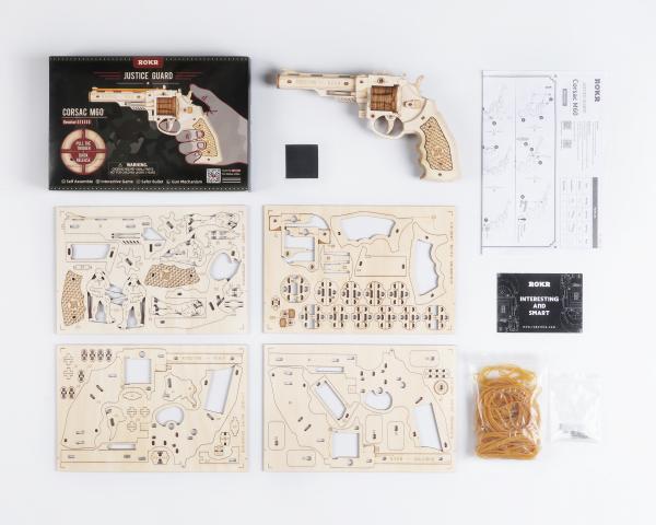 Puzzle 3D Corsac M60 [2]