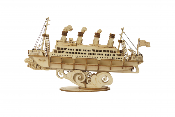 Puzzle 3D Cruise ship [3]