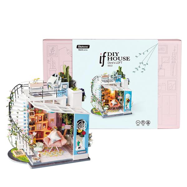 Puzzle 3D Dora's Loft [2]