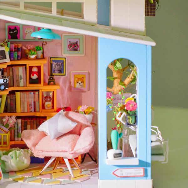 Puzzle 3D Dora's Loft [6]