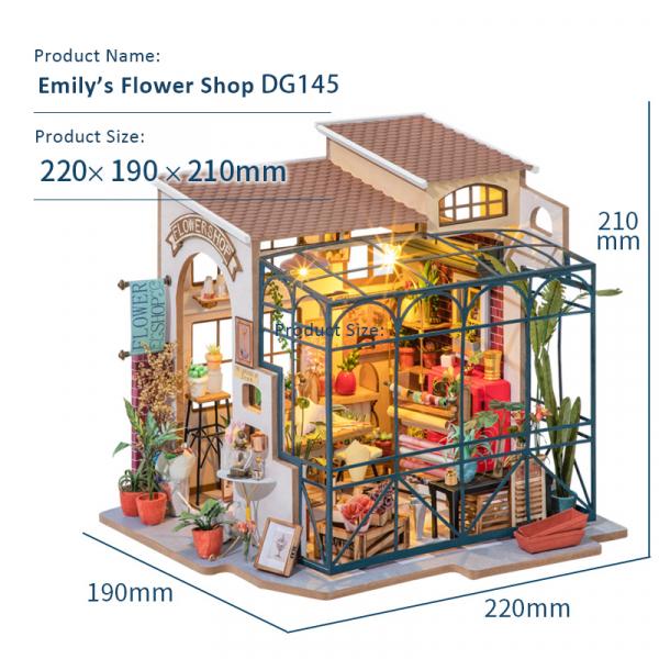 Puzzle 3D Emily's Flowers Shop [3]