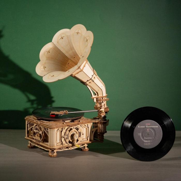 Puzzle 3D Gramophone [3]