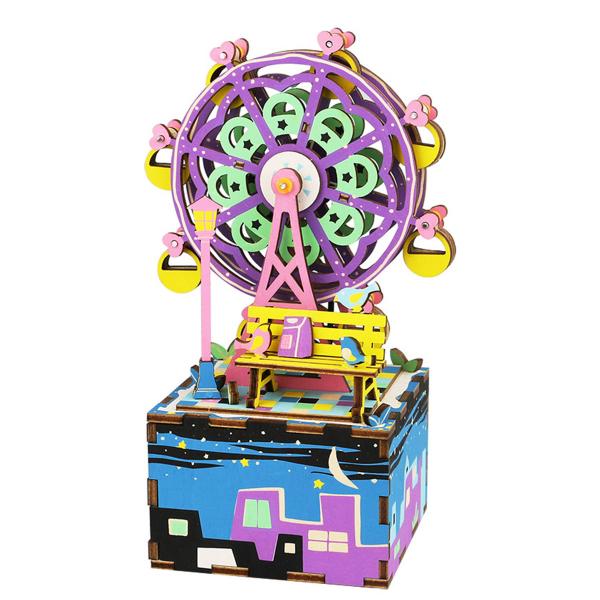 Puzzle 3D Ferris Wheel Music Box [0]