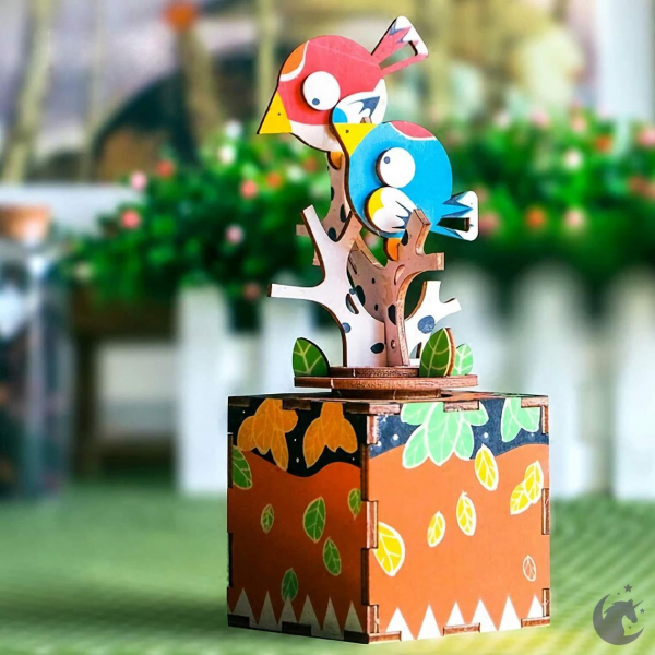 Puzzle 3D Song of Bird and Tree [1]