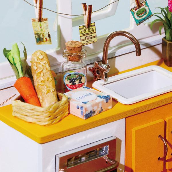Puzzle 3D Jason's Kitchen [8]