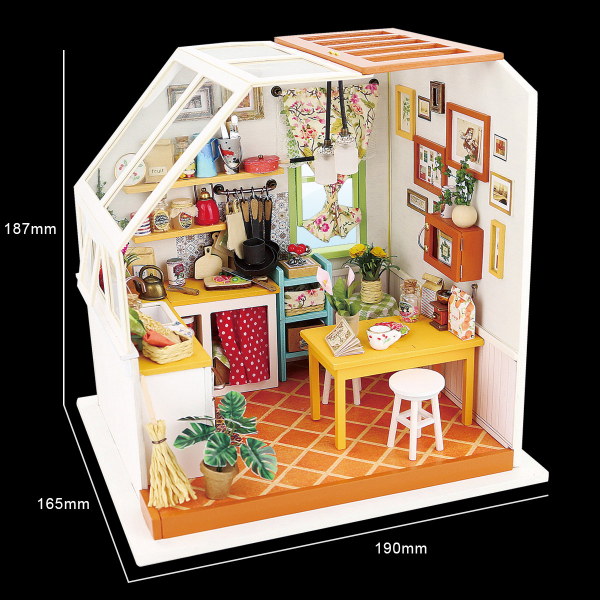 Puzzle 3D Jason's Kitchen [3]