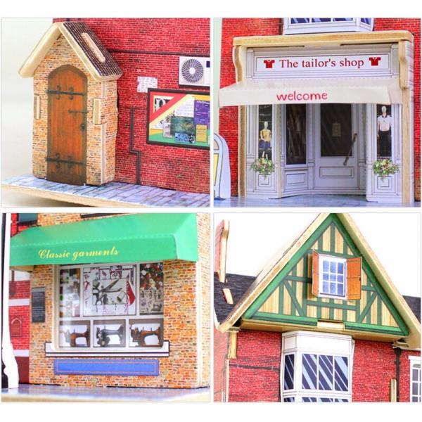 Puzzle 3D Tailor's Shop [3]