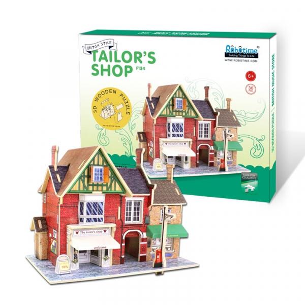 Puzzle 3D Tailor's Shop [2]