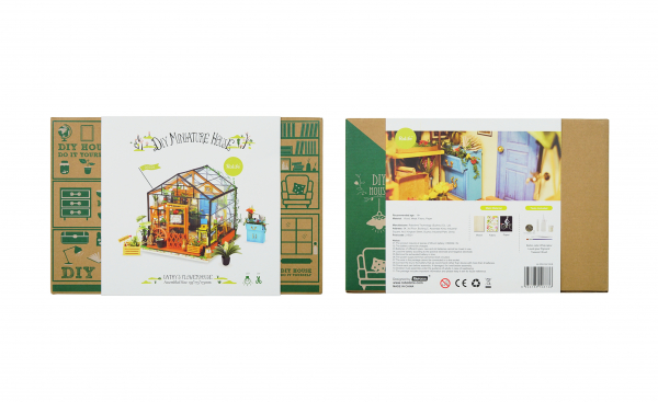 Puzzle 3D Kathy's Green House [2]