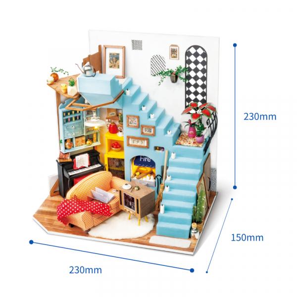 Puzzle 3D Joy's Peninsula Living Room [2]