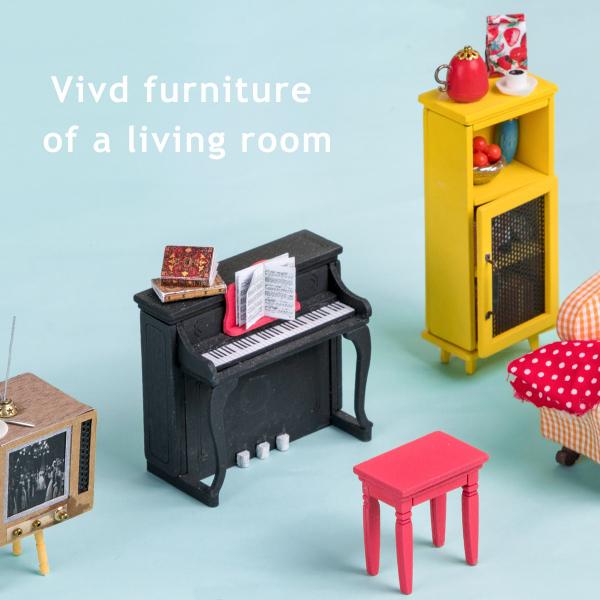 Puzzle 3D Joy's Peninsula Living Room [8]