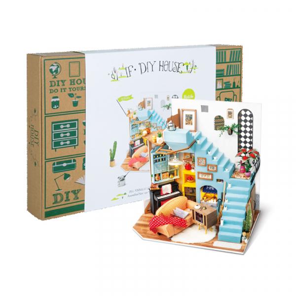 Puzzle 3D Joy's Peninsula Living Room [1]