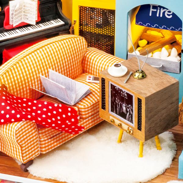 Puzzle 3D Joy's Peninsula Living Room [5]