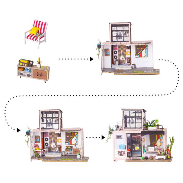 Puzzle 3D Kevin's Studio [9]