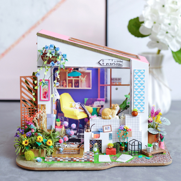 Puzzle 3D Lily's Porch [11]
