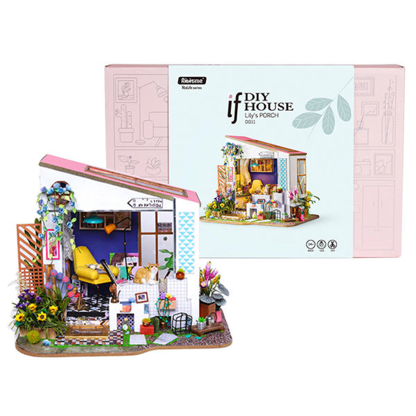 Puzzle 3D Lily's Porch [1]