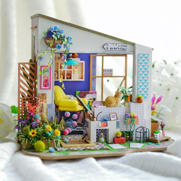 Puzzle 3D Lily's Porch [3]