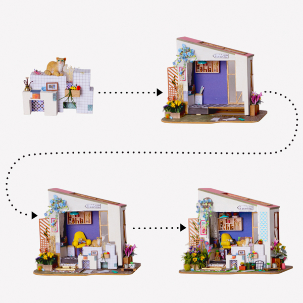 Puzzle 3D Lily's Porch [2]