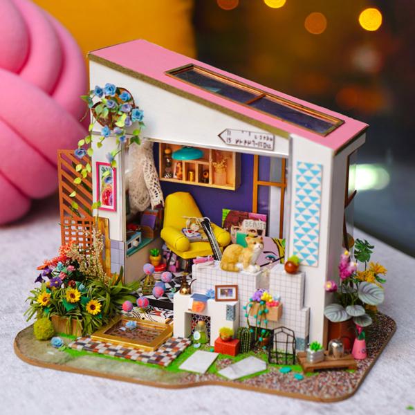 Puzzle 3D Lily's Porch [5]
