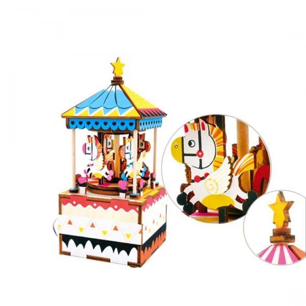 Puzzle 3D Merry Go Round [3]
