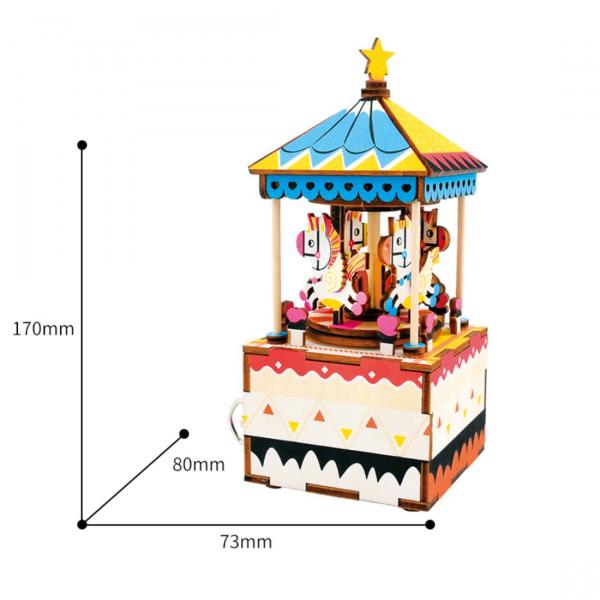 Puzzle 3D Merry Go Round [1]