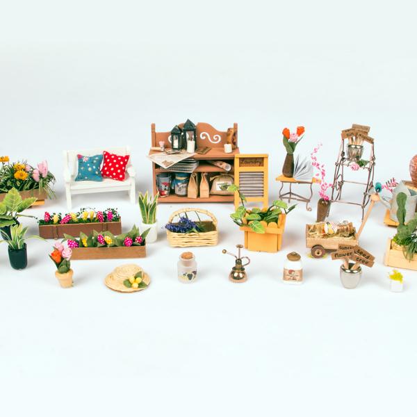 Puzzle 3D Miller's Garden [9]