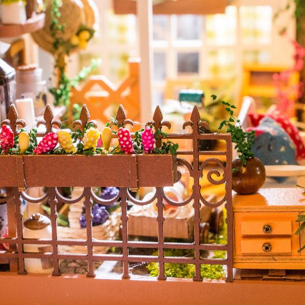 Puzzle 3D Miller's Garden [6]