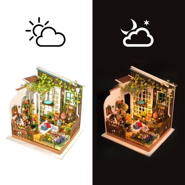 Puzzle 3D Miller's Garden [1]