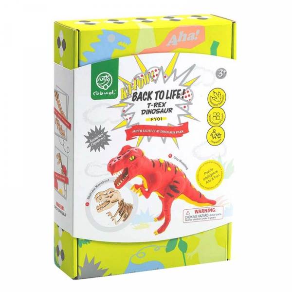 Puzzle 3D Modeling Clay T-Rex [3]