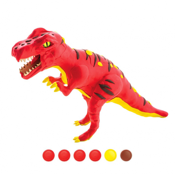 Puzzle 3D Modeling Clay T-Rex [0]