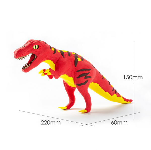Puzzle 3D Modeling Clay T-Rex [1]