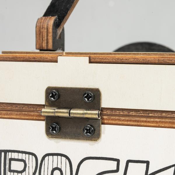 Puzzle 3D Rock Radio Tissue Box [2]