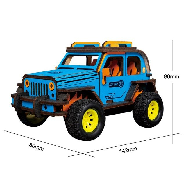 Puzzle 3D Off-Road Jeep [1]