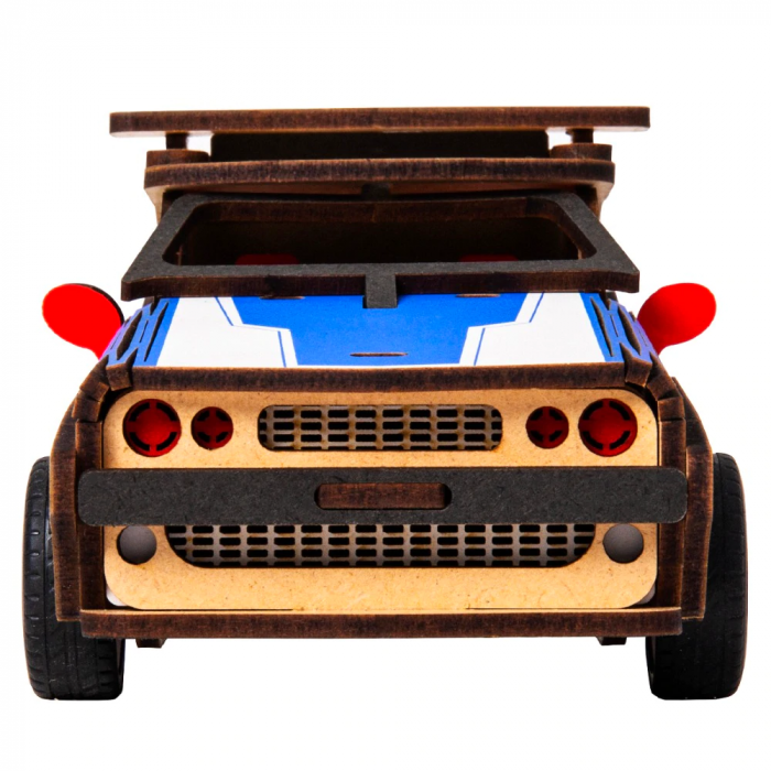 Puzzle 3D Police Car [5]