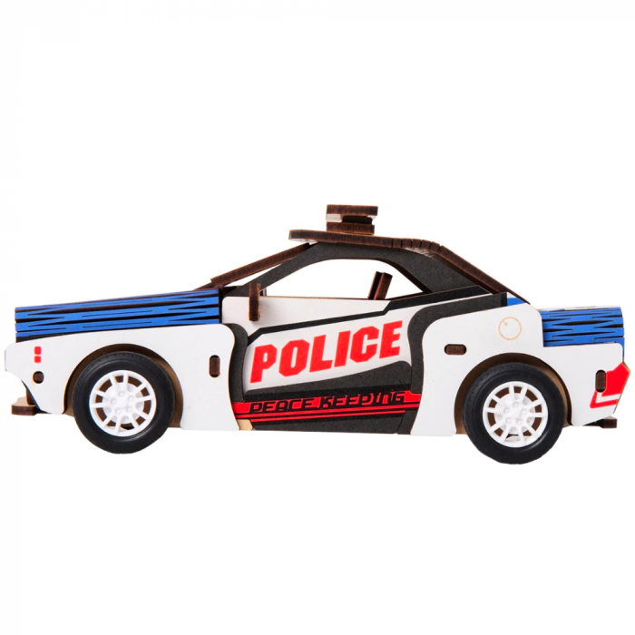 Puzzle 3D Police Car [4]