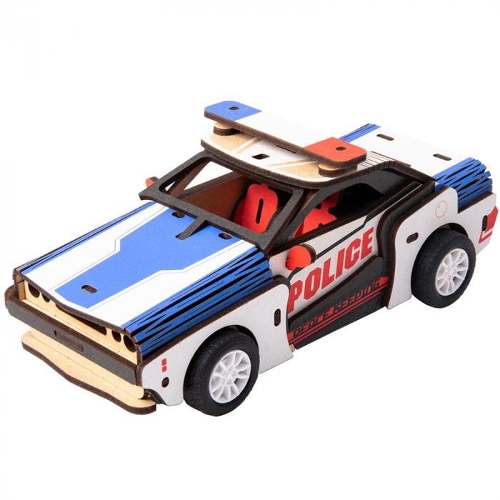 Puzzle 3D Police Car [0]