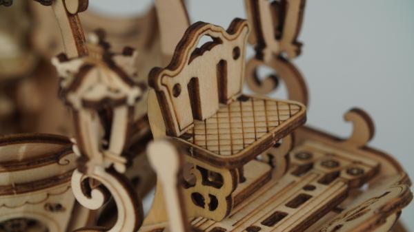 Puzzle 3D Pumpkin Cart [5]