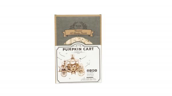 Puzzle 3D Pumpkin Cart [7]