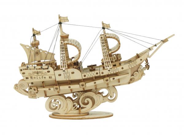 Puzzle 3D Sailing ship [0]